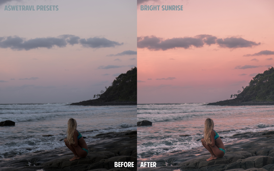 BeforeAfterBRIGHTSUNRISE