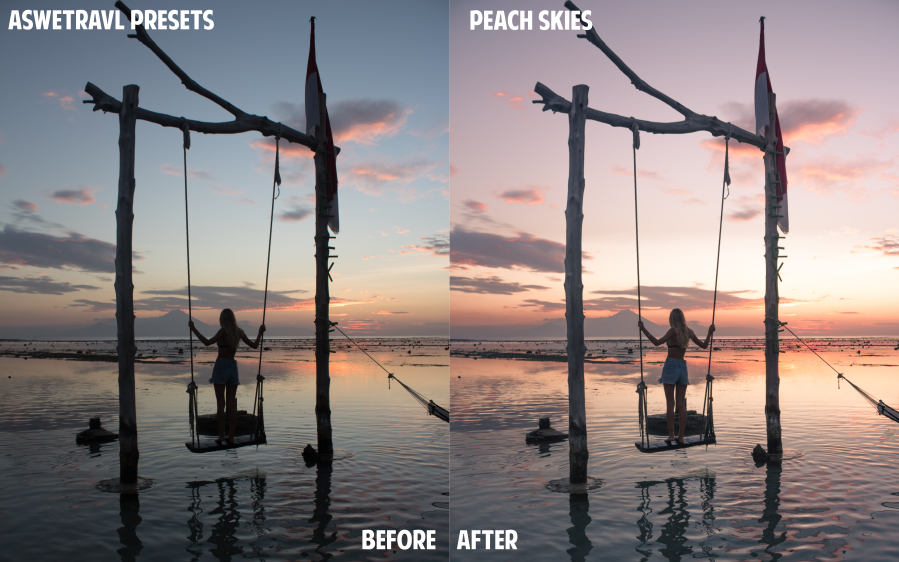 BeforeAfterPeachSkies
